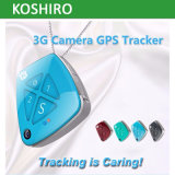 Larga distancia 3G WCDMA cámara GPS Tracker para mascotas pequeñas / perros / gatos
