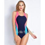 Reizvolle gedruckte Bikini-Frauen reifen Badeanzug-Form-Einteiler-Badeanzug