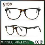 Novo design da estrutura óptica de óculos de acetato de moda óculos de óculos