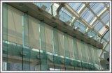 O vidro Tempered do vidro temperado desobstruído com furos/lustrou tela do borda/a de seda/logotipo