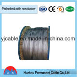Fio eléctrico única parcela de terra do cabo do fio de cobre