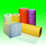 Medios de filtro de aire de bolsillo