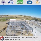 Atelier de structure métallique pour la fabrication industrielle