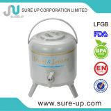 일본 최신 판매 금속 외부 알루미늄 안 커피 물 분배기 3.0L 3.8L 6.0L 8.0L 9.5L (WSUG)