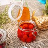 vaso di vetro di memoria 1500ml con la clip bicromato di potassio/galvanizzata/bottiglia di vetro all'aceto/del petrolio/bottiglia della spremuta
