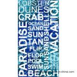 方法Microfiberによって印刷されるデザインビーチタオル
