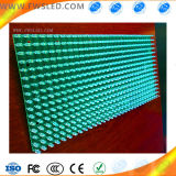 P10 solo módulo Semi-Al aire libre del color verde LED