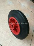 Una rotella di gomma solida da 8 pollici per il carrello dei carrelli