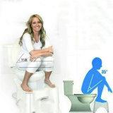 Hurkende Kruk van het Toilet van de Kruk van de Voet van de badkamers de Plastic Squatty Onbenullige