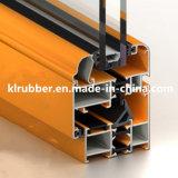 Bande en caoutchouc de joint de porte de guichet en aluminium de la coutume EPDM