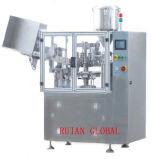 Llenador del tubo y máquina automáticos de alta velocidad del sellador para la crema dental