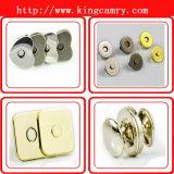 Porte-monnaie personnalisée Boutons magnétiques, bouton magnétique pour sacs en cuir