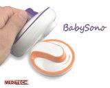 Casella di Meditech e Doppler fetale portatile con l'audio cavo astuto dell'unità