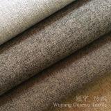 Aspect lin le linge de maison touch canapé tissu de polyester pour la décoration intérieure