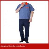 Выполненные на заказ одежды работы высокого качества полиэфира хлопка (W191)