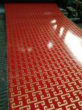 Chapa de aço da cor para a placa composta