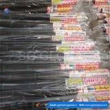 Tissu noir de barrière de Weed tissé par pp pour la ferme
