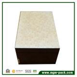 Alto brillo Caja de almacenamiento de joyas de madera con cajón