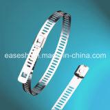 Conexão Farpada de múltiplos da escada trave Ss as braçadeiras de cabos