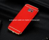 Electroplate caso do telefone com suporte de anel para Samsung S7 Edge