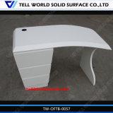 Bureau exécutif extérieur solide acrylique d'Ikea