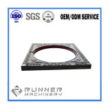 Подгонянные части CNC частей CNC алюминия подвергая механической обработке филируя стальные