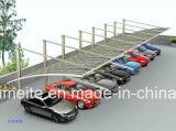 Carport con los garages del Lluvia-Abrigo de la tienda del pabellón del Tejido-para-Sábalo del mástil