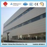 작업장 창고를 위한 가벼운 Prefabricated 제작 강철 구조물