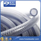 Boyau de jardin en plastique flexible de PVC de prix concurrentiel pour l'irrigation de l'eau
