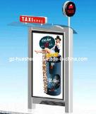 Станция таксомотора/автобусной остановки для общественного оборудования при свет рекламируя (HS-003)