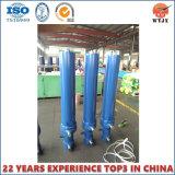 Телескопический гидравлический цилиндр используется в разгрузки прицепа/самосвал погрузчик на лучшие продажи