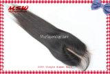 Chiusura diritta del merletto dei capelli del Virgin della parte brasiliana del centro