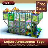Ce terrain de jeux intérieur doux enfants avec toboggan (T1246-1)