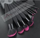 Brosse de lecture cosmétique professionnelle de renivellement de PCS de marque de la fantaisie de luxe 10 de qualité