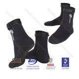Ботинки застежки -молнии неопрена 3mm мокрых одежд наградные Hi верхние