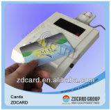 RFID Smart Chip Blank Cartão de presente para impressão Cartão plástico PVC