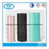 Bolso de basura plástico disponible promocional del color