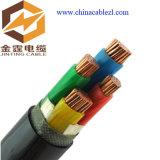 4 сердечник 95mm 120mm 0.6 силового кабеля LV бронированных кабеля сердечника /1kv медных изолированных PVC подземных