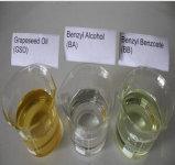 유기 용매 벤질 안식향산염 (BB), 에틸 올레산염 (EO), 벤질 알콜 (BA)