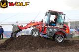 1000kg Carregador de roda de transmissão hidráulica de carga nominal para venda