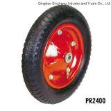 트롤리 바퀴 압축 공기를 넣은 타이어 외바퀴 손수레 Tyre3.00-8
