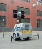 8.5m 4*480W LEDランプの油圧ディーゼルKubota軽いタワー