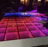 3D LED espejo de la luz de la pista de baile para la boda, mostrar, Club y la iluminación discoteca