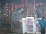 Máquina de prensa caliente con sistema de alimentación