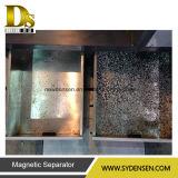 Máquina de reciclagem automática para restos de vidro médicos contendo alumínio