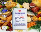 Voedsel Addtive en het Schoonheidsmiddel Gebruikte Dioxyde van het Titanium met Laag Zwaar Metaal