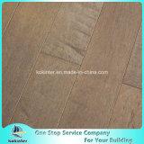 Suelo de madera dura Kok de carbón vegetal de arce canadiense de ingeniería