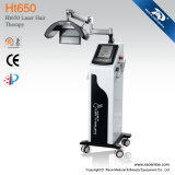 Ht650 Laser Hair Loss Treatmennt Equipement de récolte des cheveux Appareil de traitement des cheveux au laser