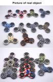 EDCの落着きのなさのおもちゃ手の紡績工のプラスチックカムフラージュの紡績工