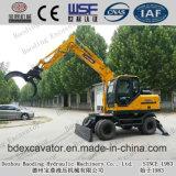 Escavatore dello Shandong Baoding che afferra i fornitori di legno